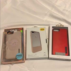 3 IPhone 7/8 Plus Cases